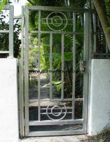 Iron Garden Gate Pedestrian Garden Entry Gate Walk Through