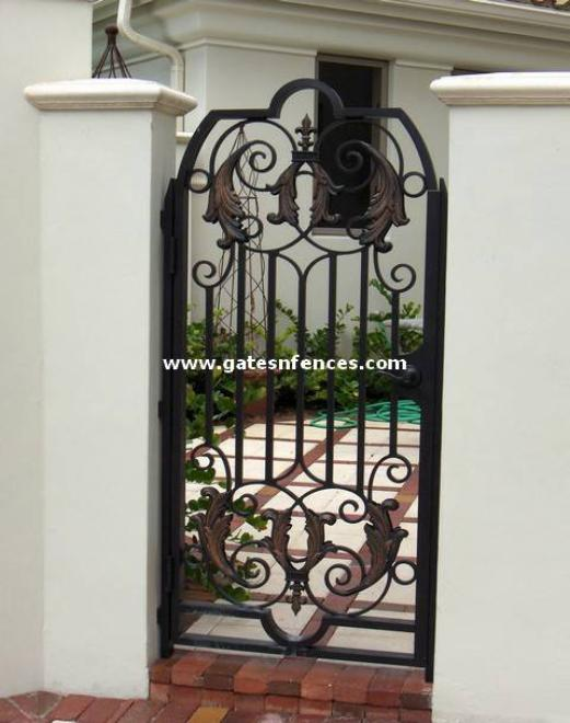 Garden Gate Designs Custom Design Walk Gates Artistic Garden Door Gate