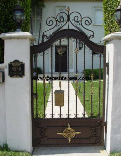 Royal Seal   Aluminum Door Security Gate, Safety Gate, Garden Gate Metal /  Aluminum