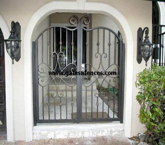 Sweet Pea   Custom Garden Gate, Aluminum Garden Gate, Garden Gates And  Fences