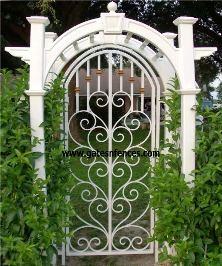 Steel Garden Gate Garden Entry Gates Iron Steel Modern