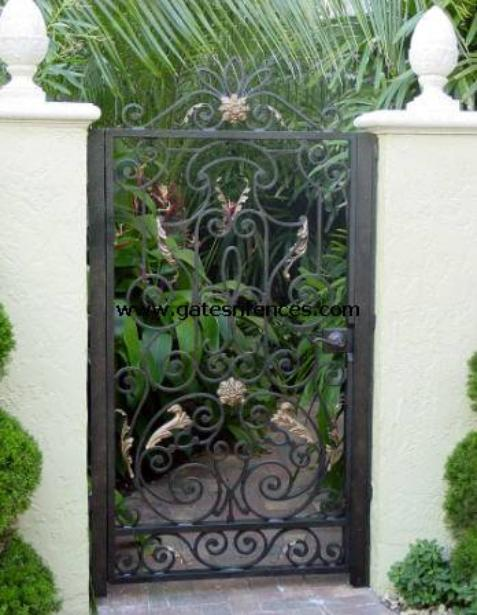 Ornamental Garden Gate Garden Fence Gates Ornamental Gates