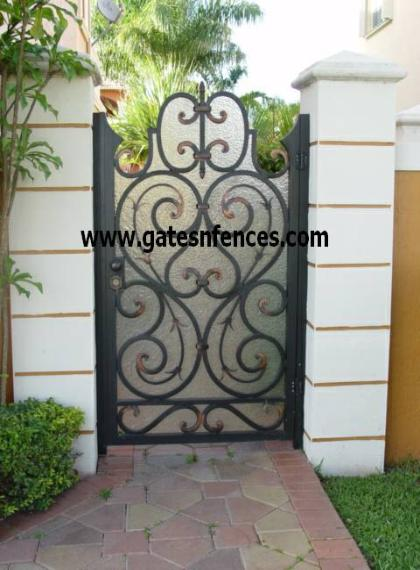 Garden Gate Doors Entrance Safety Gate Aluminum Garden