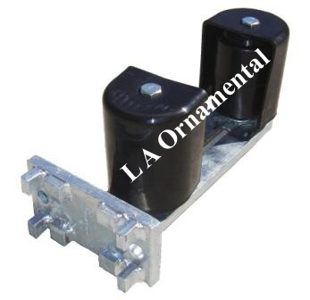 4 Quot Bottom Guide Roller W Covers Cantilever Gate Wheels