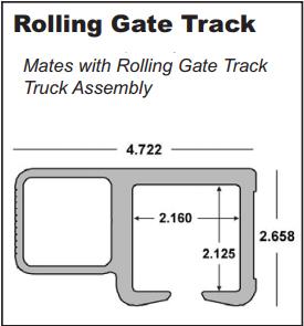 Internal Truck Assembly Internal Gate Cantilever Gate