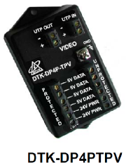 DITEK DP4PTPV - Pan/Tilt/Zoom Camera Surge Protector For Twisted Pair Connected PTZ Cameras