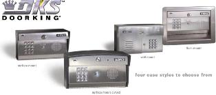 Doorking 1812 Plus Telephone Intercom Entry System-DKS 1812 Intercom System