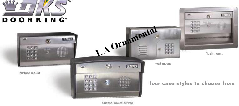 DoorKing 1812 Plus Single Family Telephone Entry System