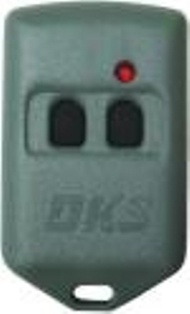 Doorking Remote Control, Doorking MicroClik Transmitters, DKS Clickers - Two Button Remote