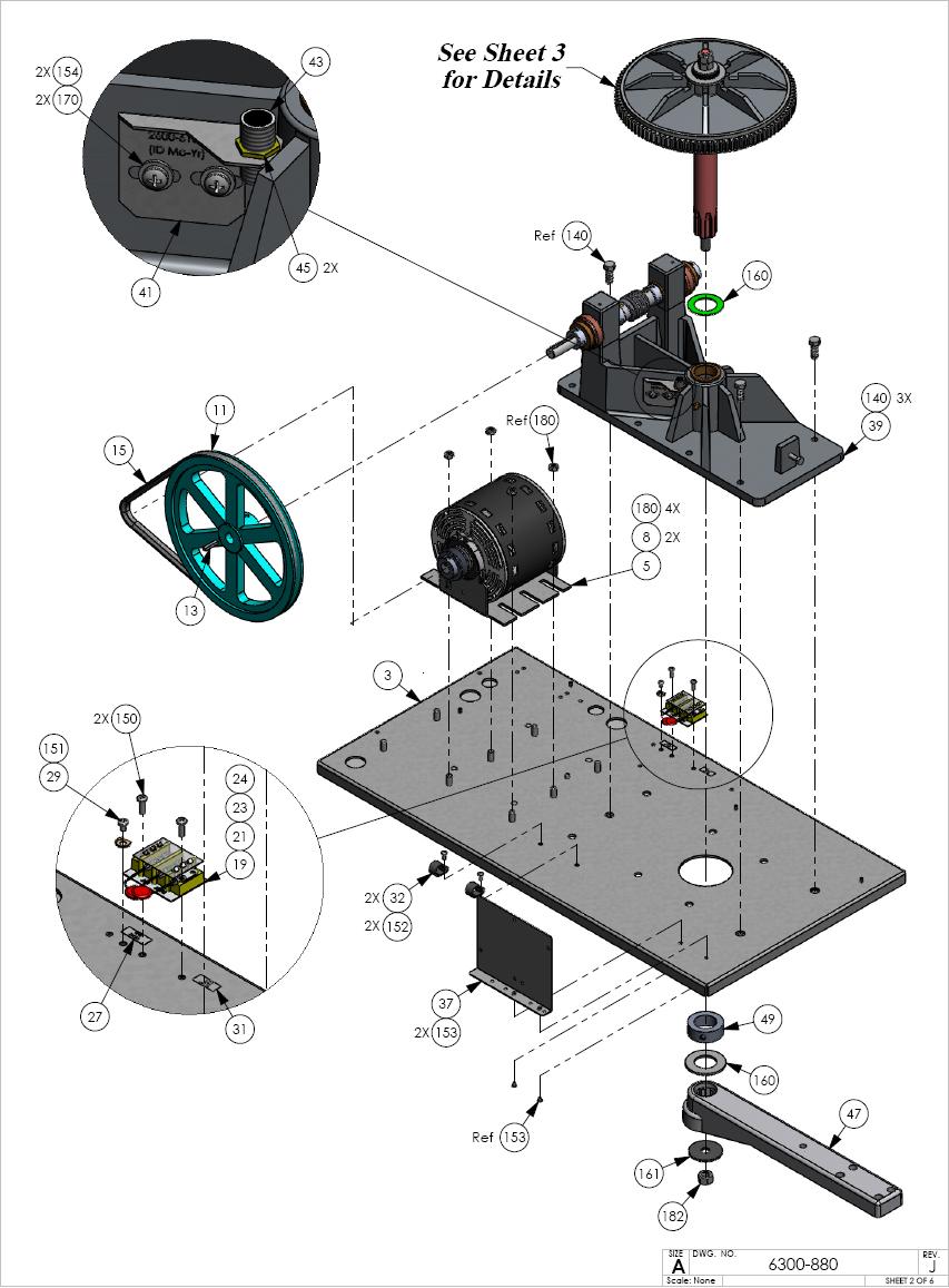Dks Operator Replacement Parts Doorking 6300 Repair Parts