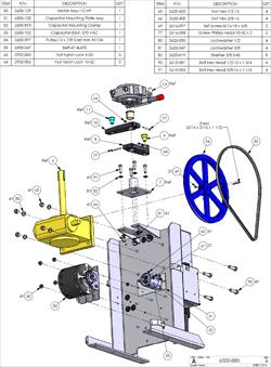 Doorking Slide Gate Opener Replacement Parts Doorking 6500