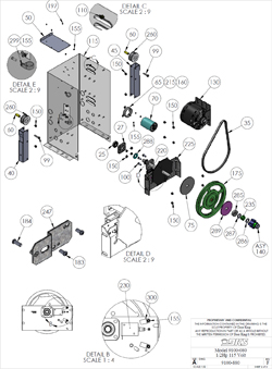 Doorking Parts - 9100-080 (View 2)