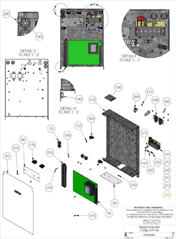 Doorking Parts - 9100-080 (View 3)
