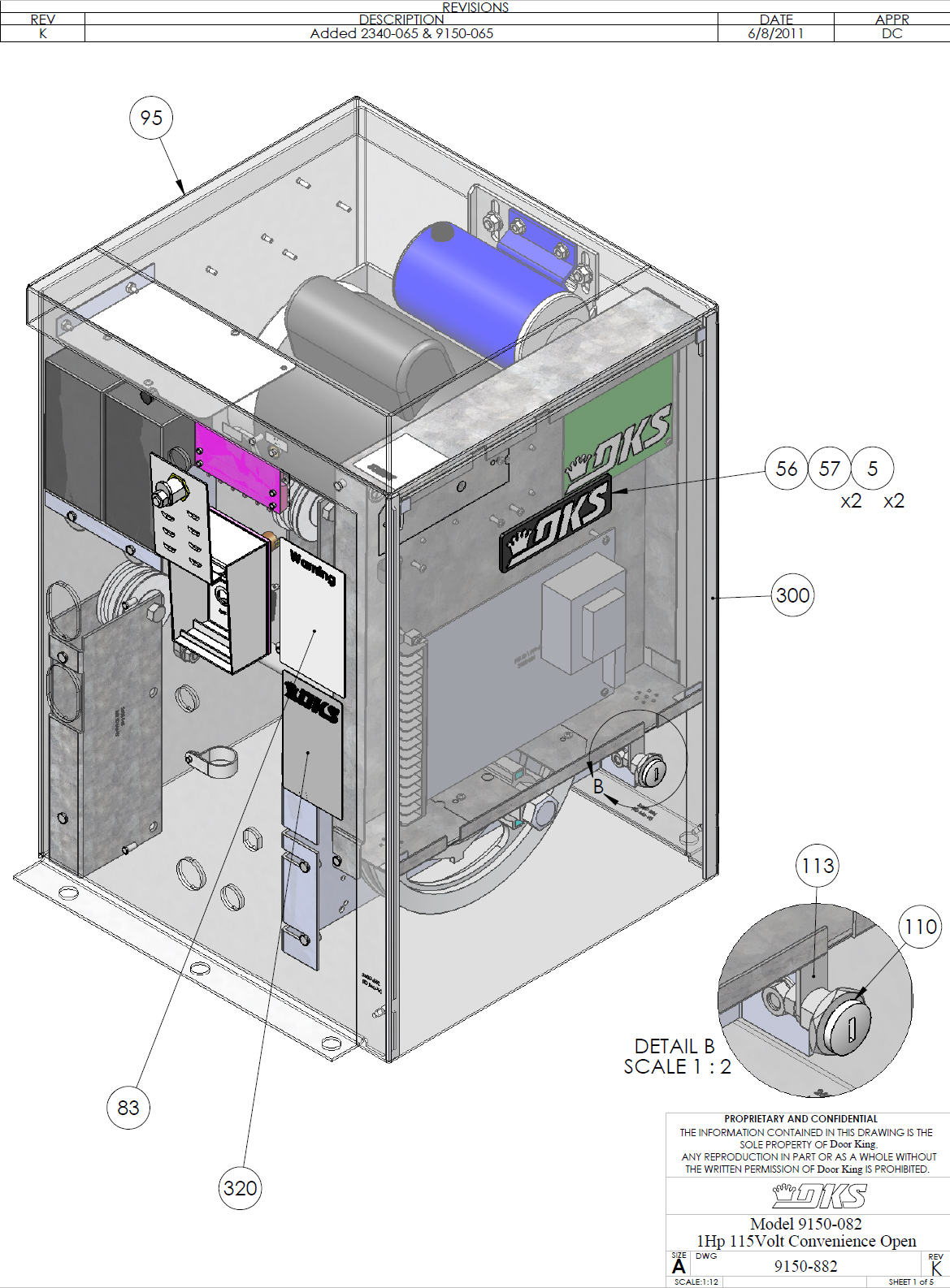 Doorking parts slide gate operators