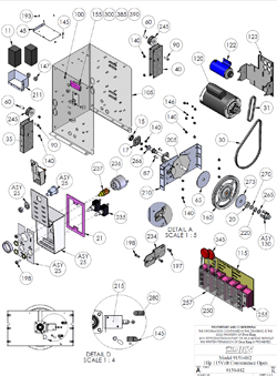 Doorking Parts - 9150-082 (View 2)