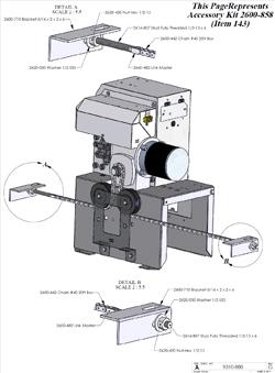 doorking parts slide gate operator 9310 080 doorking replacement parts