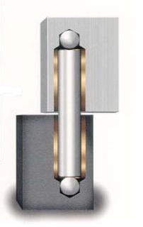 Elite Power Hinge 2 - Steel / Aluminum Gate Hinge