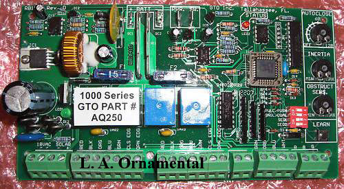 Gto Aq250 Pc Board Gto Pro Circuit Control Board Aq250