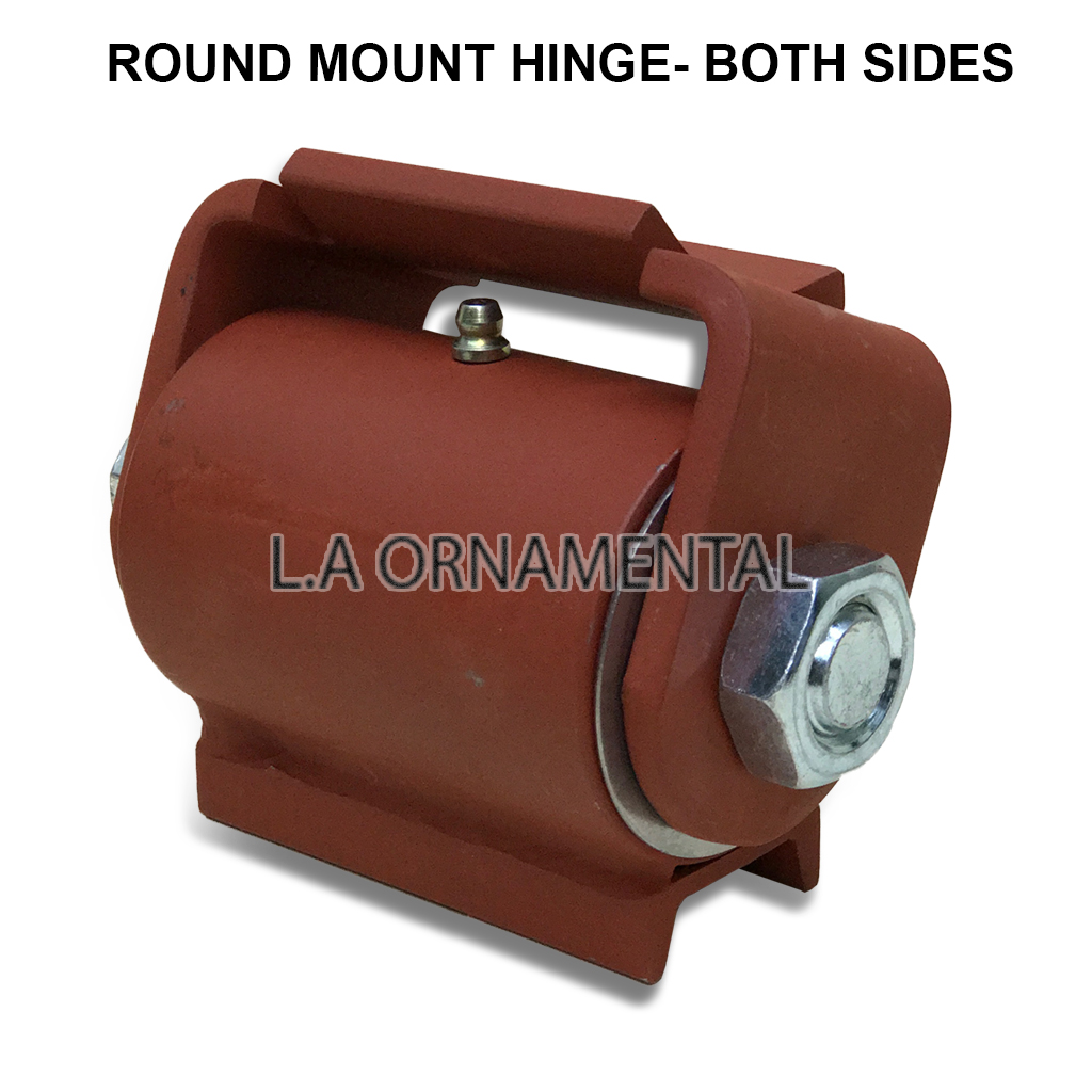 J bolt adjustable heavy duty hinge gates