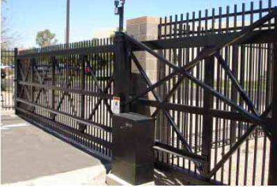 "SlideDriver 80-M Modular, very heavy gate, 8,000 lb., 12"" per sec."