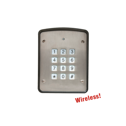 Heddolf 318 MHz Automatic Gate Opener hardwired or wireless Digital Keypad Set 2