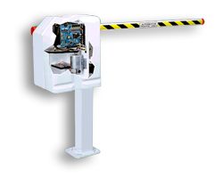 Liftmaster MEGA ARM Pedestal High Traffic Performance Commercial DC Barrier Arm Gate Operator