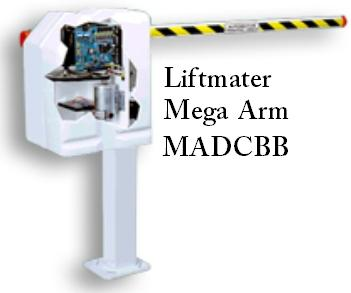 Liftmaster Mega Arm High Traffic Performance Commercial Dc