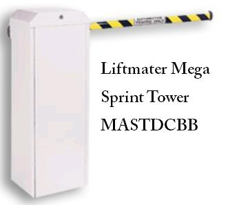 Liftmaster MEGA SPRINT TOWER High Traffic Barrier Operator, Liftmaster Commercial DC-Powered Barrier Gate Operator