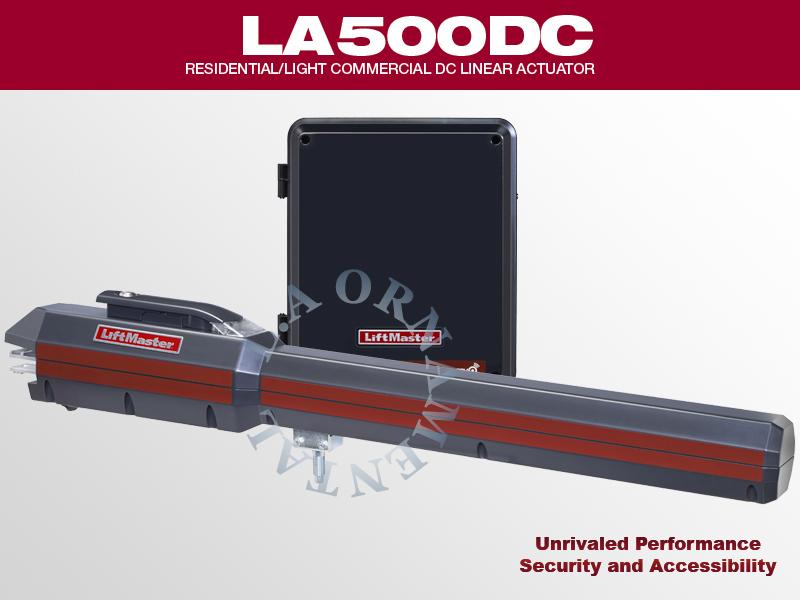 Liftmaster Model La500 Swing Gate Operator