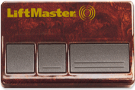 Liftmaster 373W 315 MHZ Three Button Transmitter, Three Channel