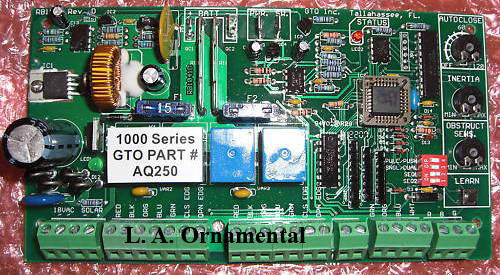 Mighty Mule AQ250 PC Board, Mighty Mule Circuit Control Board AQ250