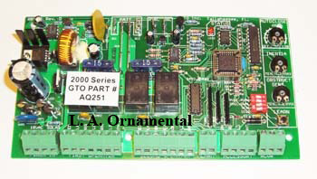 Mighty Mule AQ251 PC Circuit Control Board mighty mule circuit board, mighty mule logic control board, pc board mighty mule gate opener wiring diagram at readyjetset.co