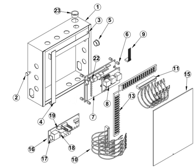 Osco bgu d barrier operator gate arm parts