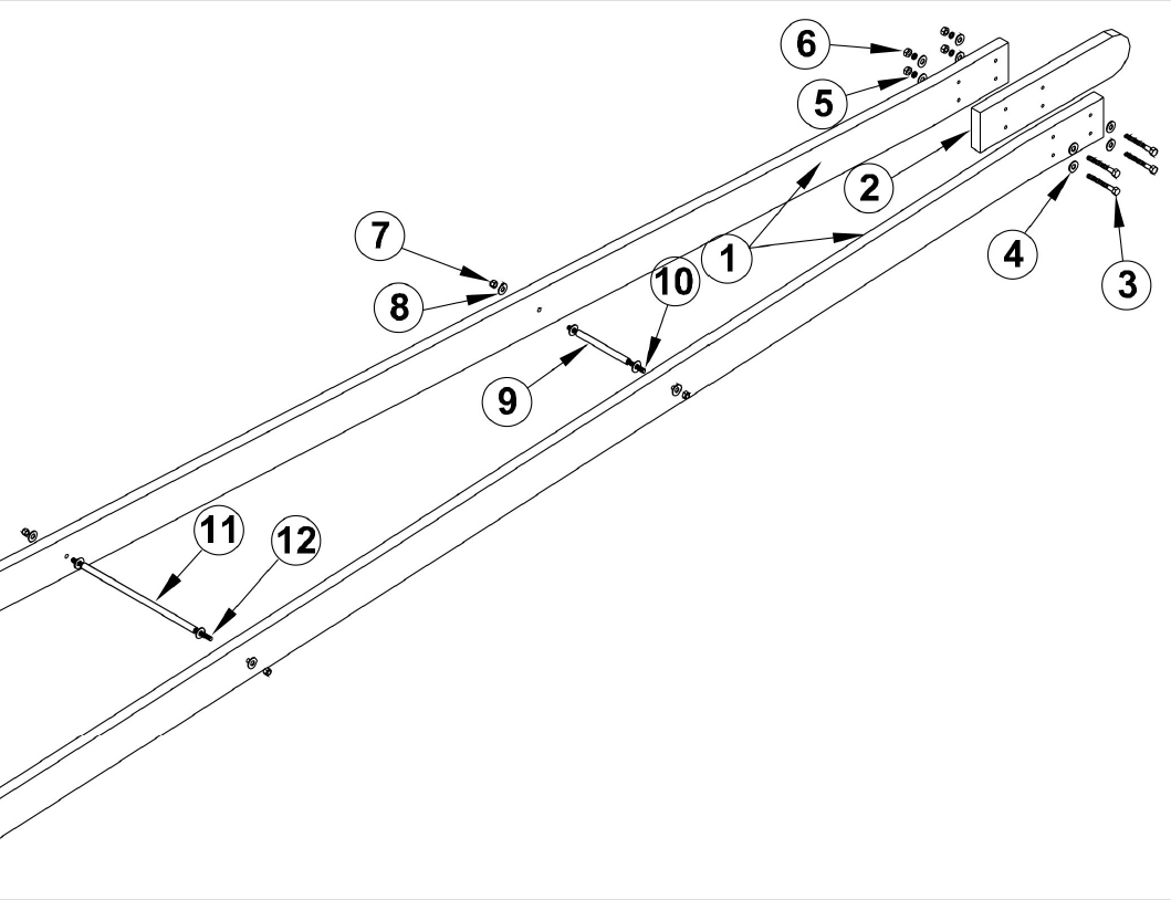 Osco Sg Barrier Operator Osco Gate Arm Assembly