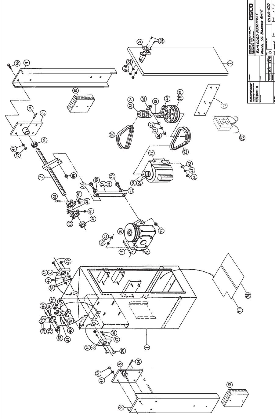 [SCHEMATICS_4LK]  OSCO SG Operator OSCO Parking Arm Gate Barrier Replacement Parts | Osco Door Opener Wiring Diagram |  | LA Ornamental