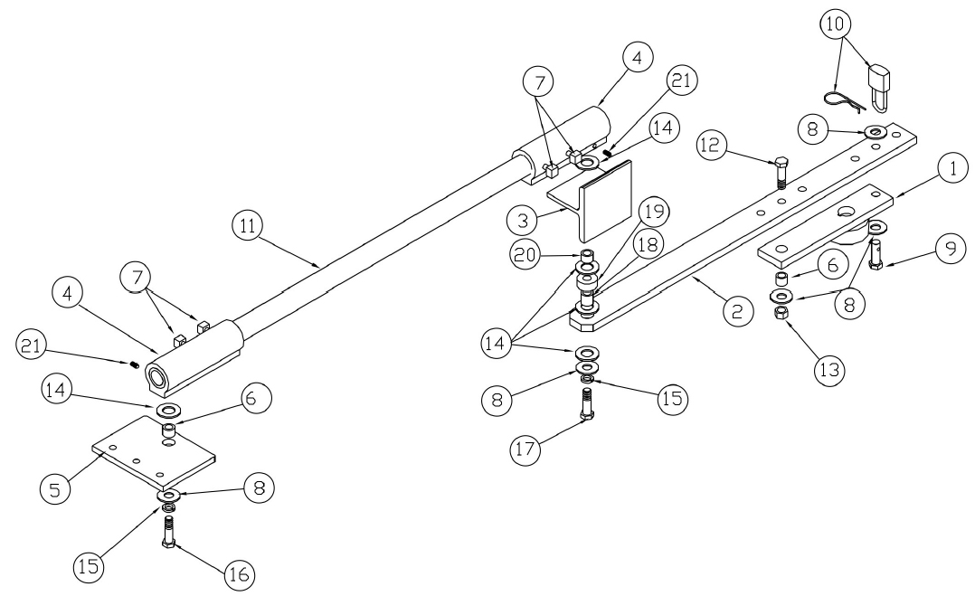 gate opener parts