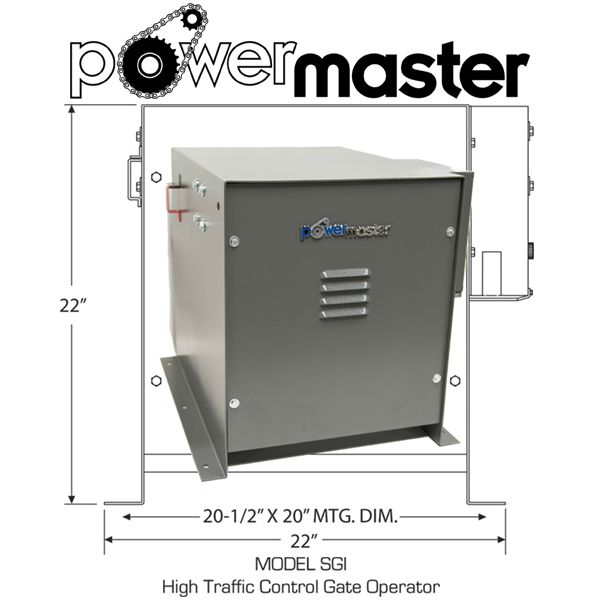 Power Master Sgi Super Heavy Duty Commercial Sliding Gate