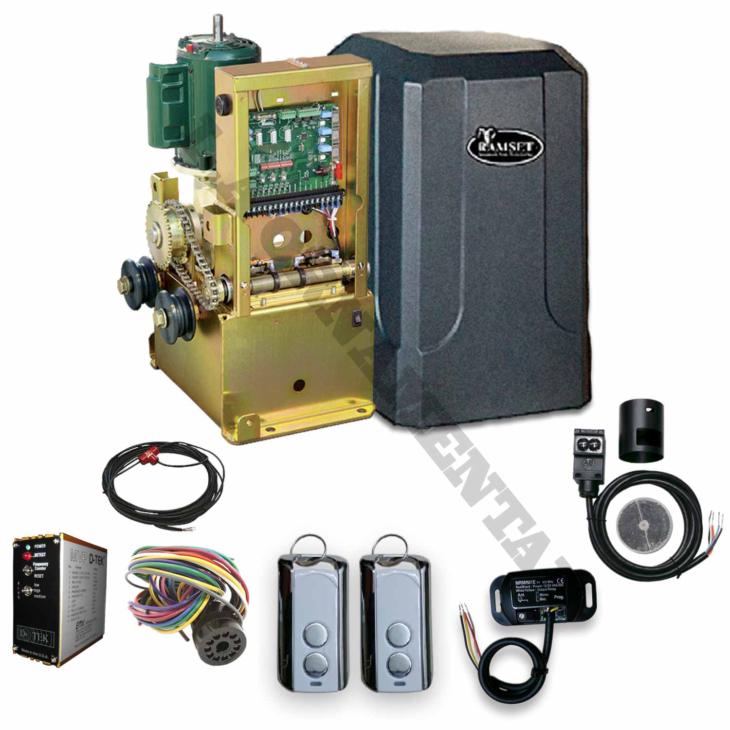Ramset gate openers kits slide