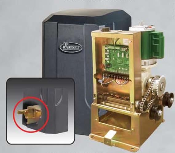 Ramset 1000 Slide Gate Openers automatic gate openers residential commercial openers