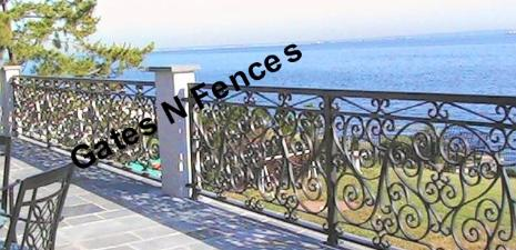 Aluminum Railings, Cusomt Railings, Decorative Iron Ralings, Wrought Iron Railings, Security Railings, Custom Aluminum Railings