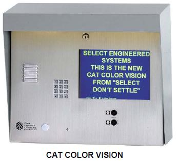 Select Engineered Systems CAT Color Vision Access Control - SES TEC COLOR VISION