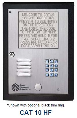 Select Engineered Systems CAT10HF Access Control - SES CAT 10 HF