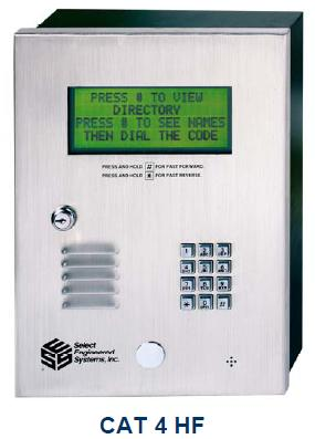 Select Engineered Systems CAT4HF Access Control - SES CAT 4 HF
