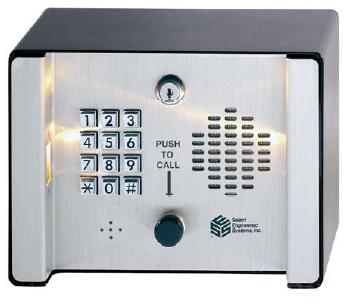 Select Engineered Systems SG2 Telephone Entry Control - SES Select Gate2