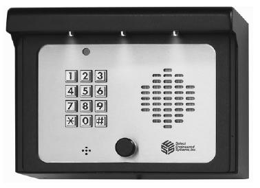 Select Engineered Systems SG3DMR Telephone Entry Control - SES SelectGate SG3DMR