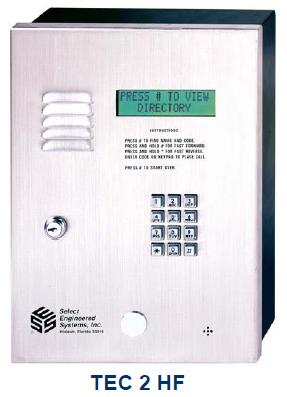 Select Engineered Systems TEC2HF Telephone Entry Control - SES TEC 2 HF