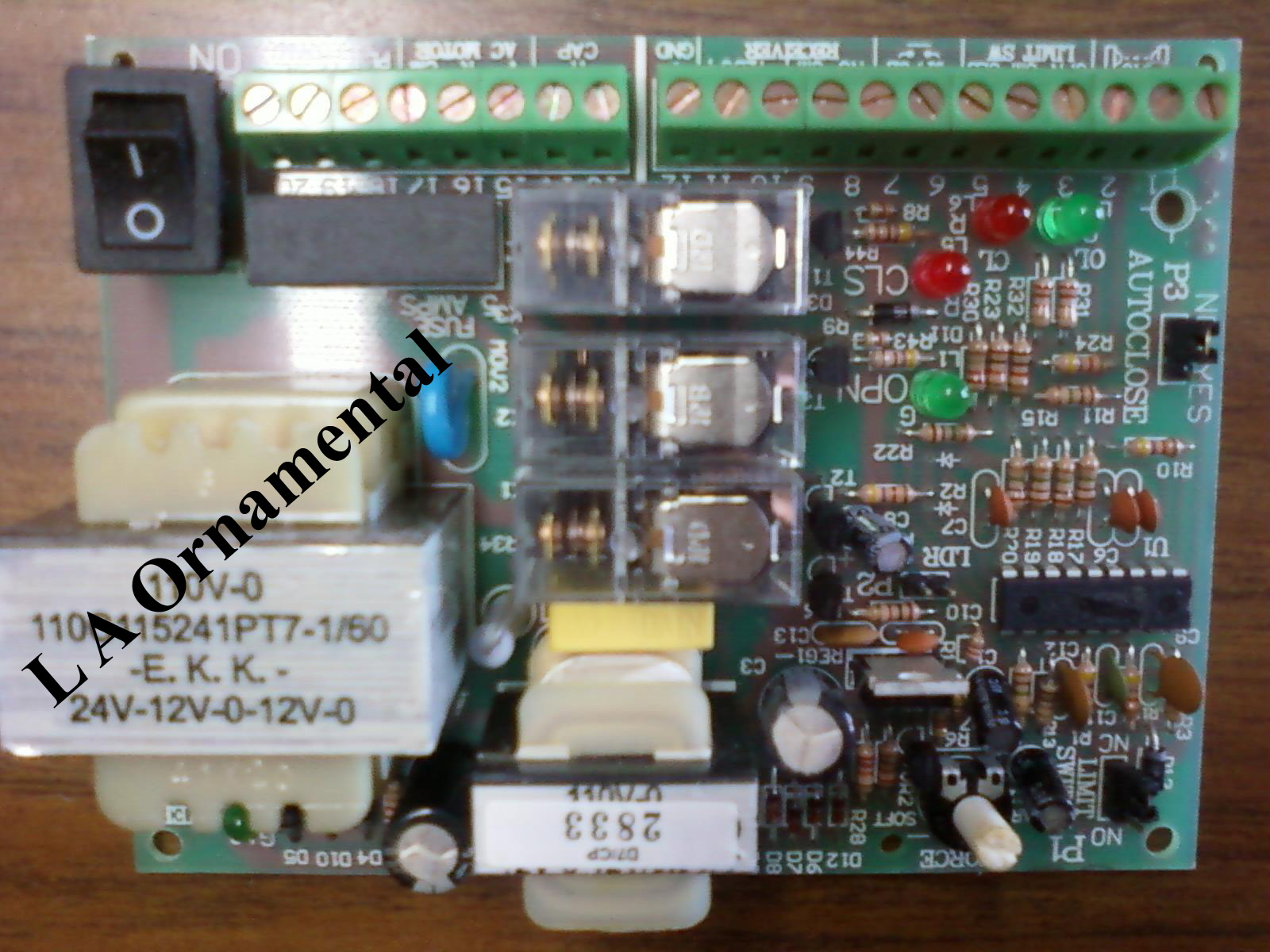 Victory circuit boards control gate