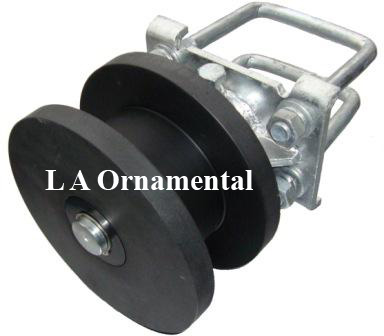 Cantilever Gate Wheels, Cantilever Rollers for Square Pipe