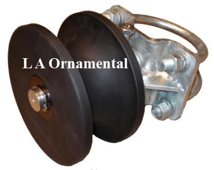 Cantilever Wheels Heavy Duty Gate Wheel For Round Pipe