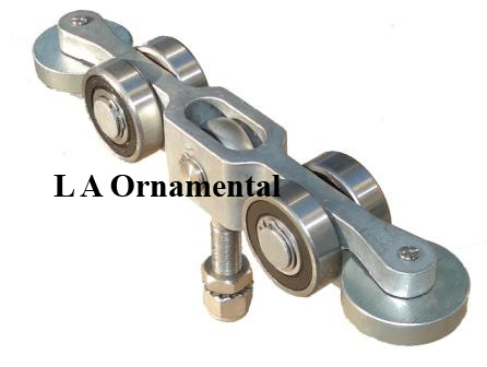 Internal Truck Assembly, Internal Gate Wheels, Guide Wheels